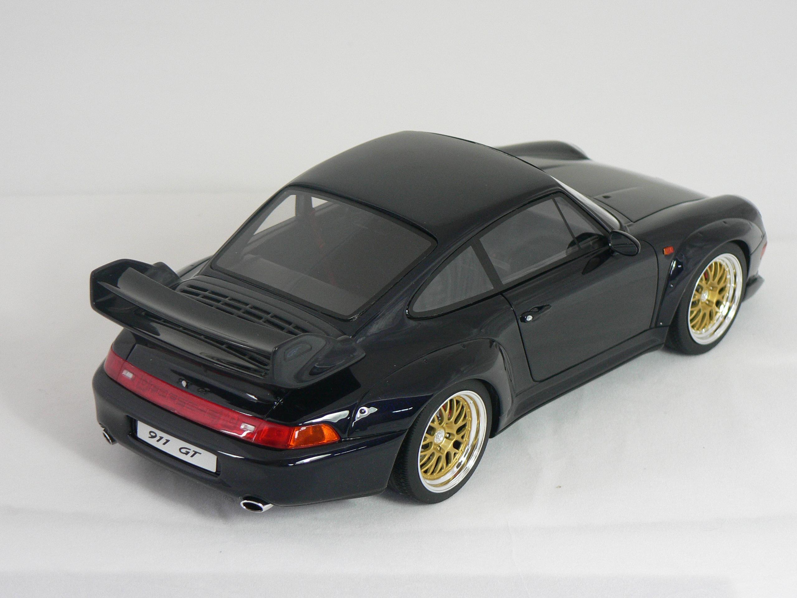 gl modellbilar porsche 911 993 gt inget ppningsbart limited edition 1500pcs. Black Bedroom Furniture Sets. Home Design Ideas